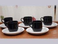 コーヒーカップ トリオ5セット