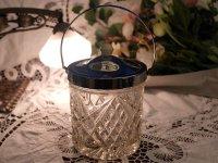 アイスバレル(氷入れ) カットガラス