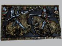 壁飾り 騎士