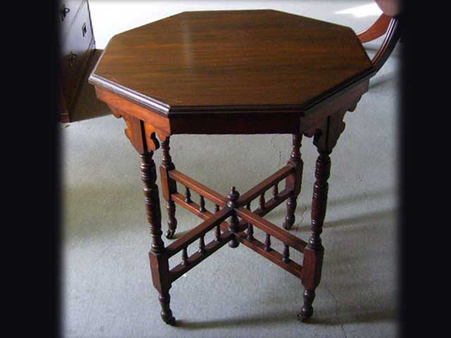 アンティーク 家具 テーブル・ダイニングセット テーブル 八角 (小)