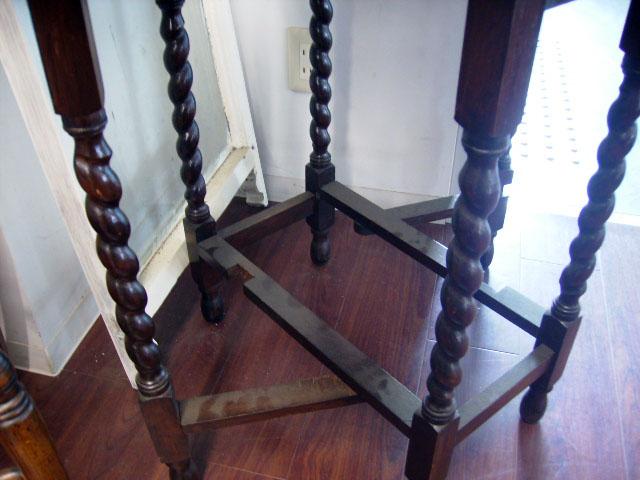 アンティーク 家具 テーブル・ダイニングセット ゲートレッグ テーブル 小