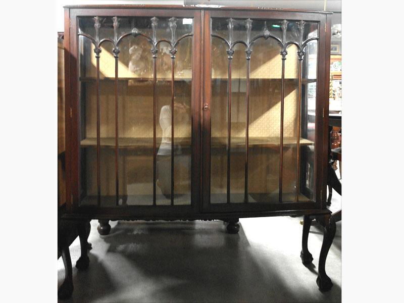 アンティーク 家具 キャビネット・ショーケース キャビネット ガラス