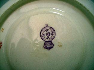 アンティーク 陶磁器 食器 カップ&ソーサー他 ロイヤルウースター(Royal Worcester) Tea Set(トレー付)