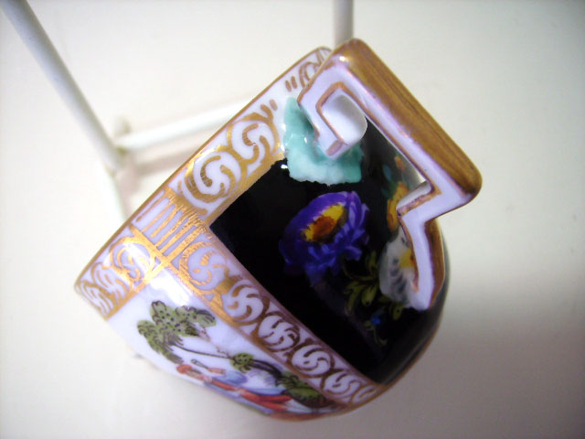アンティーク 陶磁器 マイセン・ドレスデン コレクション チョコレートカップ  マイセン・ドレスデン