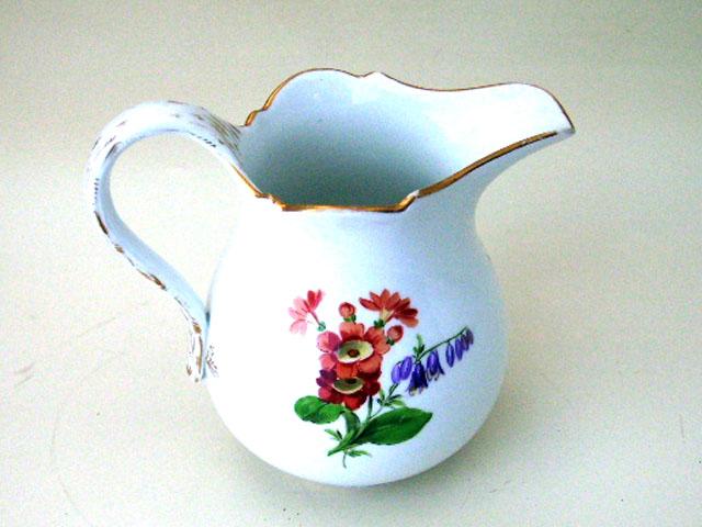 アンティーク 陶磁器 マイセン・ドレスデン コレクション クリーマー  マイセン