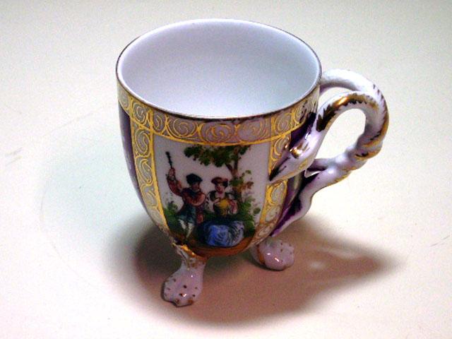 アンティーク 陶磁器 食器 カップ&ソーサー他 チョコレートカップ