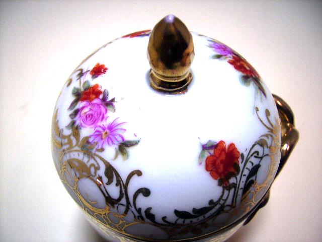 アンティーク 陶磁器 食器 カップ&ソーサー他 チョコレートカップ 蓋付