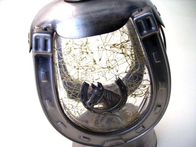 アンティーク ガラス クリアー系 デカンタ オルゴール付