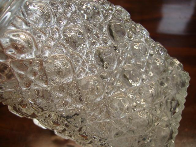 アンティーク ガラス クリアー系 デカンタ カットグラス セット(3)