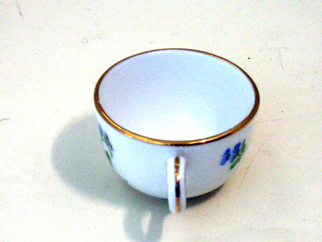 アンティーク 陶磁器 マイセン・ドレスデン コレクション ミニチュア カップ マイセン