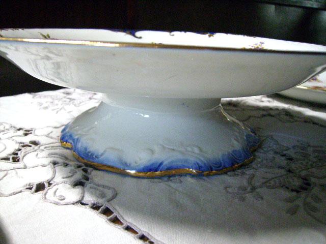 アンティーク 陶磁器 食器 カップ&ソーサー他 ロイヤルドルトン(Royal Doulton)  ソーサー 7点&コンポート 1点 セット