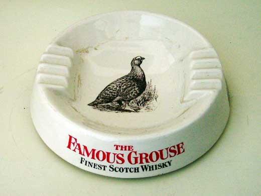 雑貨(パブ・グッズ) 灰皿 灰皿 (Famous Grouse)