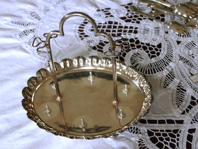 アンティーク その他 銀・銅製品ほか エッグスタンド&スプーン セット 6