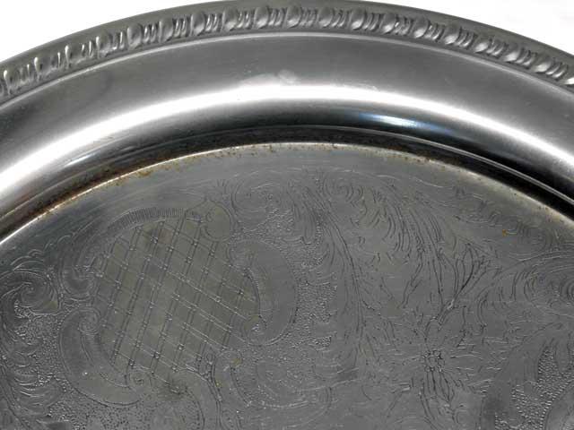 アンティーク その他 銀・銅製品ほか トレー シルバープレート