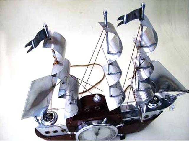 ビンテージ/コレクタブル 時計 時計 ヨット 電気付