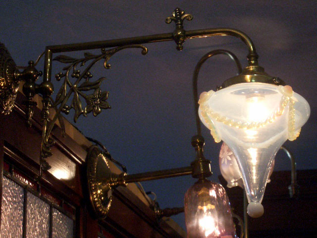 アンティーク 照明 ランプ用ブラケット(テーブル・ウォール用等) ウォールランプ ブラケット 真鋳