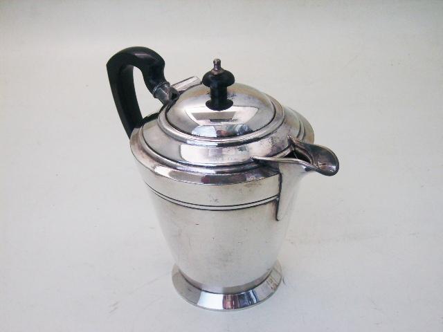 コーヒ ポット シルバープレート,銀・銅製品他,