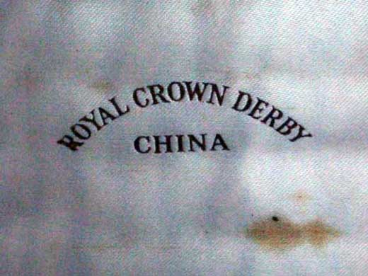 アンティーク その他 カトラリー ロイヤルクラウンダービー(Royal Crown Derby)  ナイフ セット箱入り 未使用