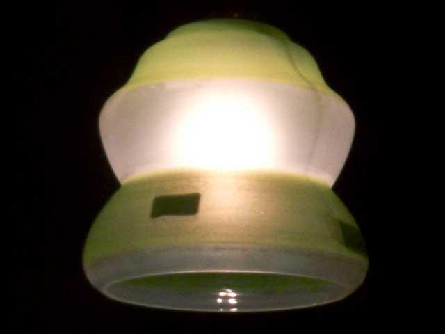 アンティーク 照明 シェード シェード アールデコ・ペインテッド