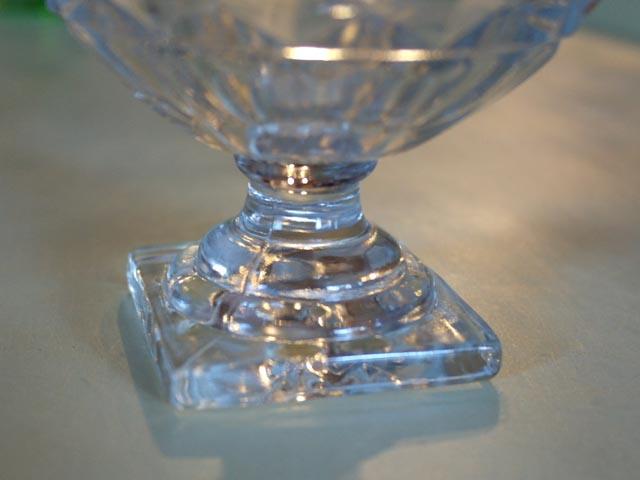 アンティーク ガラス クリアー系 アイスクリーム グラス セット (76,77,78,79,80,81)