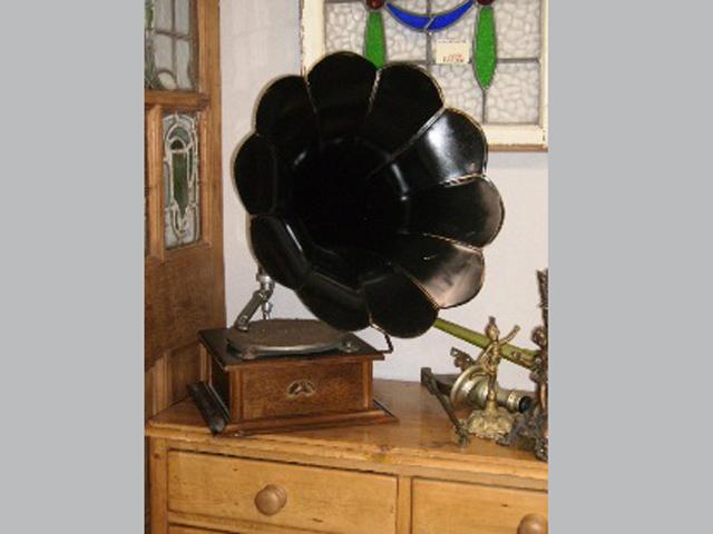 ビンテージ/コレクタブル 機械もの 蓄音機 His Master's Voice