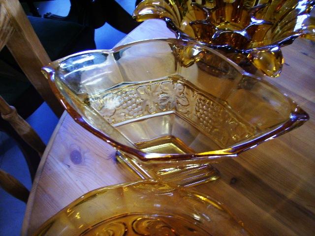 ガラス バーズ(花器) アンバーガラス 雑貨(キッチン) 雑貨ガラスほか