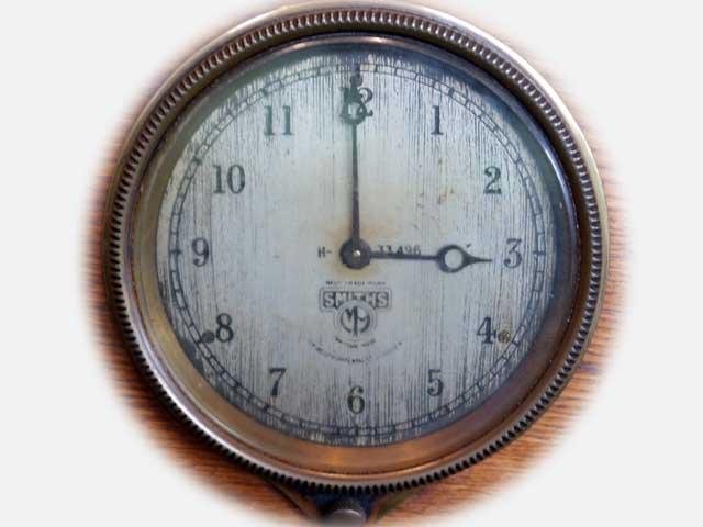 ビンテージ/コレクタブル 時計 Smith 置時計