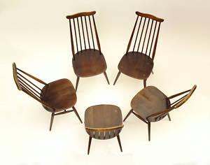 アーコールチェアー ゴールドスミス 5脚セット,アンティーク 家具,チェア・ソファー