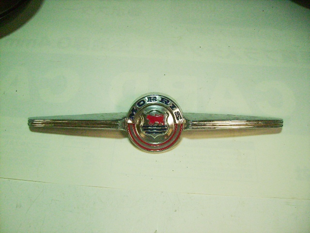 バッジ モーリス ミニ マイナーF 純正 新品 英国車・MINIのレアパーツ エンブレム類(Emblem)