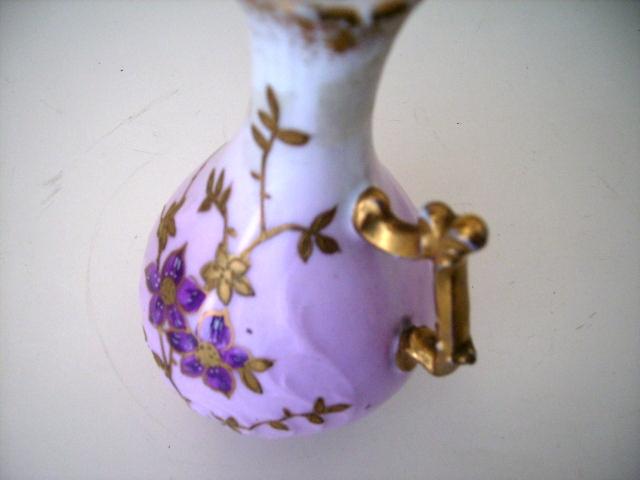 リモージュ バーズ(花器) ペア アンティーク 陶磁器 その他