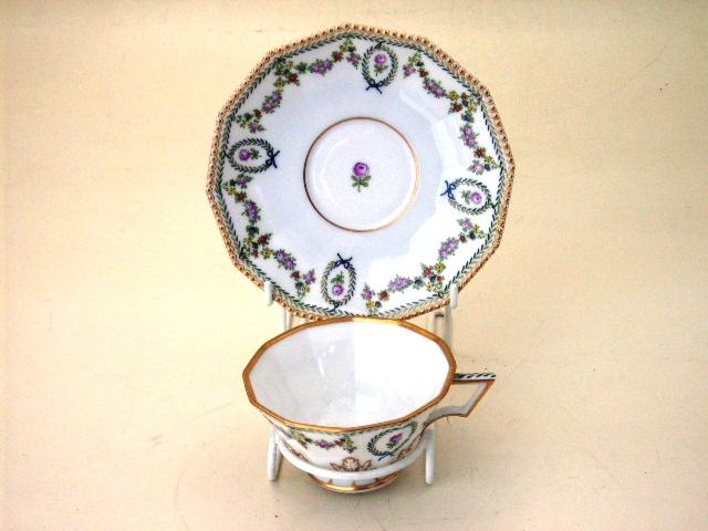 アンティーク 陶磁器 食器 カップ&ソーサー他 カップ&ソーサー 2点セット