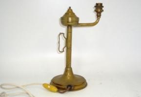 ランプスタンド 真鋳,アンティーク 照明,ランプ用ブラケット(テーブル・ウォール用等)