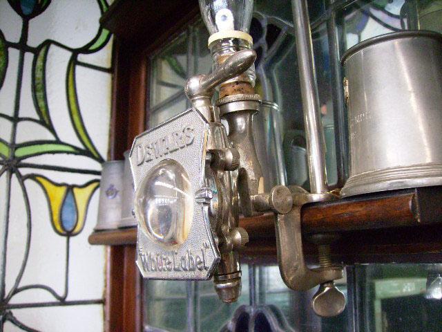 雑貨(パブ・グッズ) カウンター用品 ウィスキーボトル・ホルダー&コック&プレート
