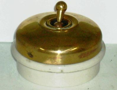 アンティーク 建材 建物付属品 スイッチ
