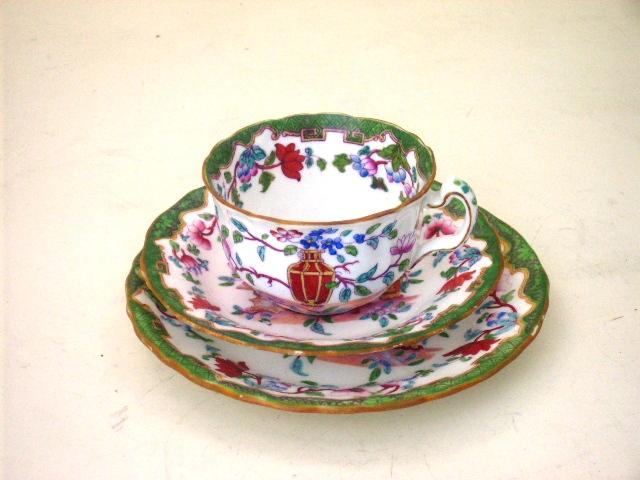 アンティーク 陶磁器 食器 カップ&ソーサー他 ミントン トリオ