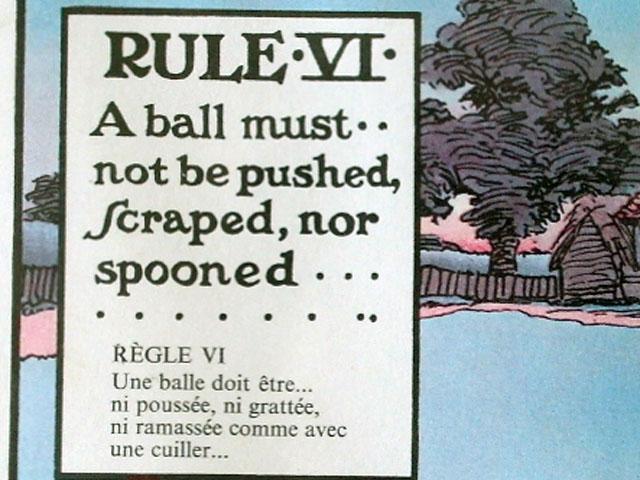 雑貨(ホビー) 絵・額入り品 絵 (Rules of Golf VI)