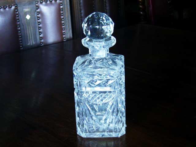 アンティーク ガラス クリアー系 デカンタ