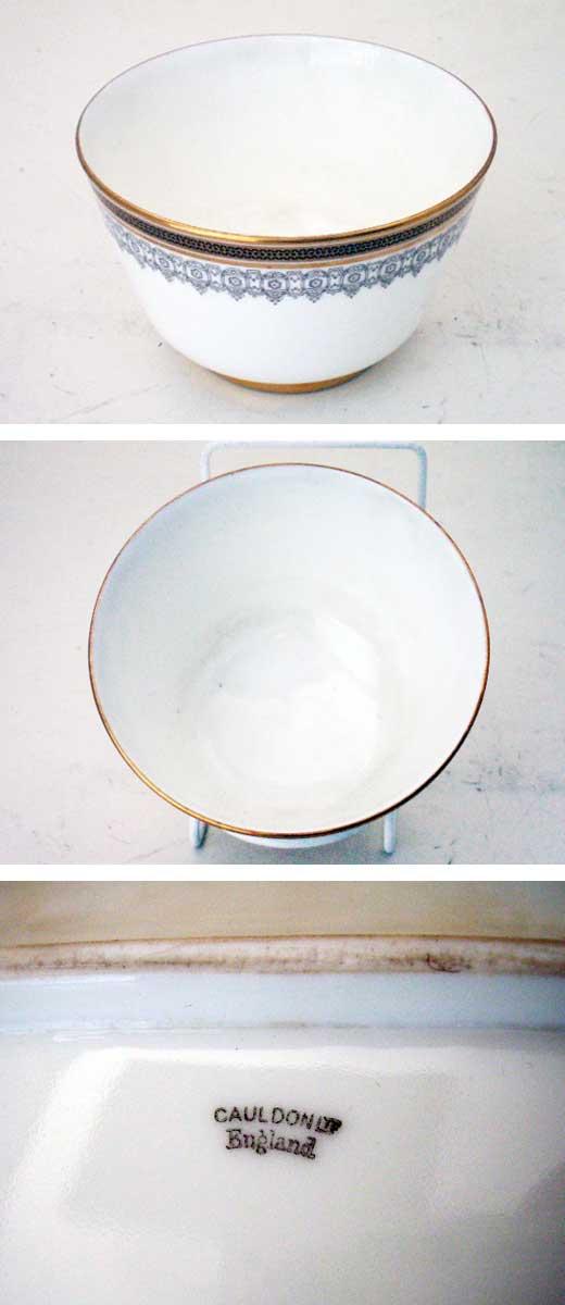 アンティーク 陶磁器 食器 カップ&ソーサー他 コールドン オールセット