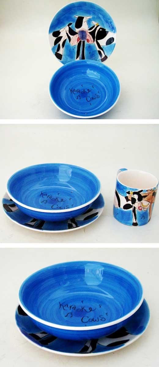 雑貨(キッチン) 雑貨陶器 ウィッタードWhittard of Chelsea 朝食セット(Breakfast Set) 箱付き 新品