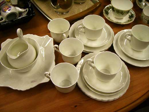 雑貨(キッチン) 雑貨陶器 ティーカップセット