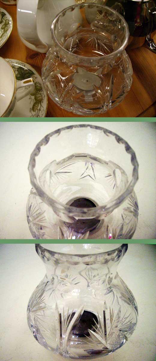 ビンテージ/コレクタブル キャンドルスタンドほか キャンドル ガラス