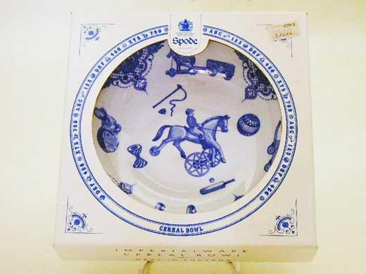 雑貨(キッチン) 雑貨陶器 Spode Edwardian Childhood ナーサリーボール 新品