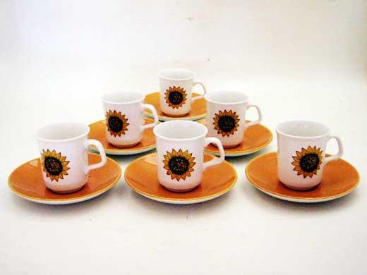 J&G Meakin(ミーキン) コーヒーカップ 6客セット 雑貨(キッチン) 雑貨陶器