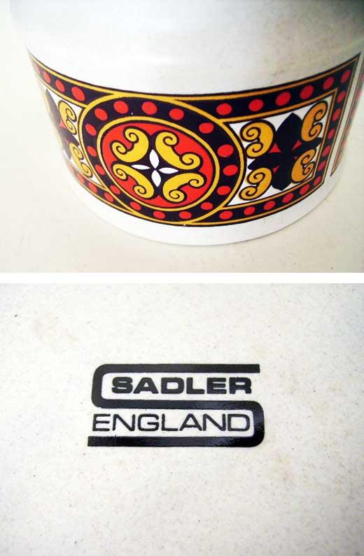 雑貨(キッチン) 雑貨陶器 コーヒーポット SADLER