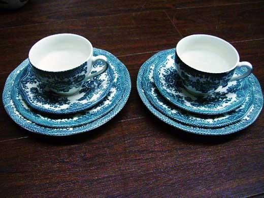 雑貨(キッチン) 雑貨陶器 イノック ウェッジウッド(Enoch Wedgewood) ティー 4ピース 2客セット
