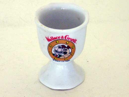 雑貨(キッチン) 雑貨陶器 エッグスタンド Wallace&Gromitウォレスとグルミット