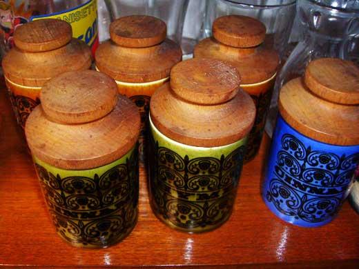 雑貨(キッチン) 雑貨陶器 ホーンジー (Hornsea) スパイスジャー調味料入れ 1個