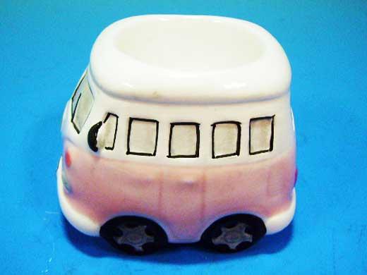 雑貨(キッチン) 雑貨陶器 エッグスタンド VW バス