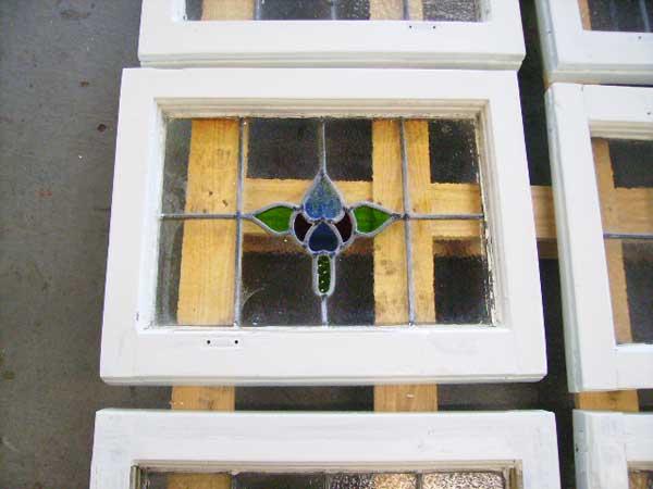 ステンド 16枚セット アンティーク 建材 ステンドグラス