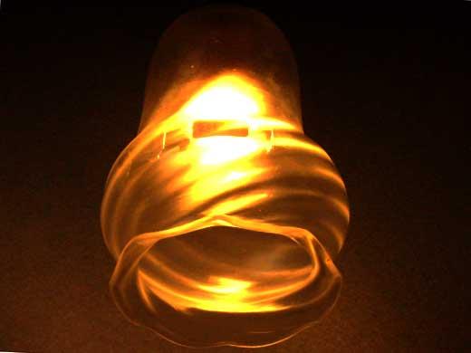 シェード サテングラス,アンティーク 照明,シェード